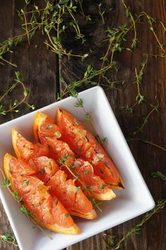 Honey Ginger Broiled Grapefruit Recipe   Cooking On The Weekends