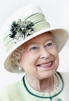 Queen Elizabeth in Norwich in February 2011