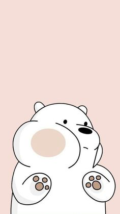 Cute Panda Wallpaper, Cartoon Wallpaper Iphone, Disney Phone Wallpaper, Bear Wallpaper, Kawaii Wallpaper, We Bare Bears Wallpapers, Panda Wallpapers, Cute Cartoon Wallpapers, Ice Bear We Bare Bears