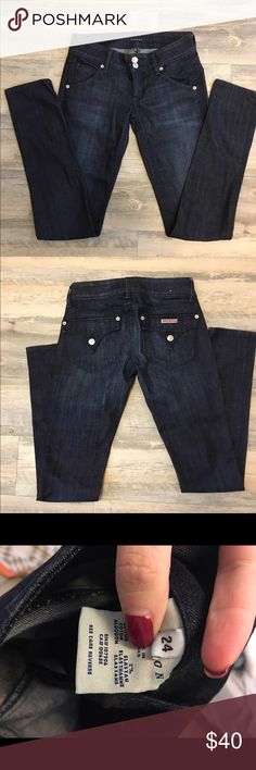 Hudson Jeans Dark wash and are In great condition. Hudson Jeans Jeans