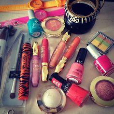 Makeup lovers <3! #makeup #makeup #makeup #revlon #milani #maxfactor