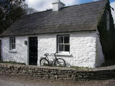 Quaint old Irish cottage in West Cork Ireland Irish Cottage, Old Cottage, Cottage Homes, Old Irish, Concept Home, Ireland Homes, Vernacular Architecture, Cork Ireland, Cottage Design