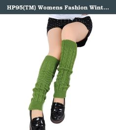 HP95(TM) Womens Fashion Winter Knit Twist Knitted Leg Warmers Legging Boot Cover (# Green). Description: Type: Leg Warmers Material: acrylic fibers Size: One size (elasticity) Length:42cm/16.5''(approx) Color:White,Coffee,Black,Gary Quantity: 1 Pair Apply to season: Spring, autumn, winter Great item with shorts, skirts, skinny Jeans etc. Suitable for women, a perfect gift to yourself or friends. Note: Please allow 1-2cm error due to manual measurement. Due to the difference between…