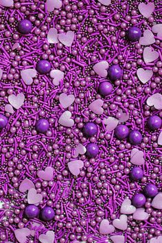 Violent Violet Sprinkle Blend, Purple Sprinkles, All purple mix, Crunchy Sprinkles, violet fancy spr Purple Love, All Things Purple, Pink Purple, Rainbow Aesthetic, Purple Aesthetic, Wallpaper Backgrounds, Cute Wallpapers, Fancy Sprinkles, Purple Themes