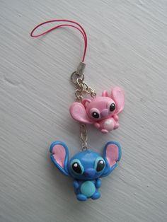 Stitch cellphone strap by LaManish.deviantart.com on @deviantART
