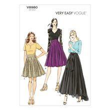 Vogue Patterns V8980 (14-16-18-20-22)