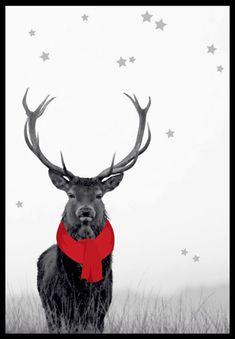 printable-christmas-cerf-noel-deer