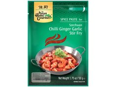 #Szechuan chili #gember knoflook #woksaus