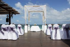 My Mexico wedding on the beach at the now sapphire resort....