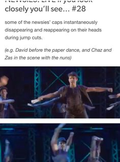 NEWSIES: LIVE  if you look closely you'll see #28 Credits: nobody-told-the-Horse //tumblr