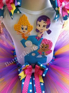 Bubble Guppies! Jessilyn Gober- how cute would this be for the girls' Birthday Party!! :)
