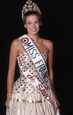 Yvonne Viseux 1947 Miss Francia France, Aga khan iii