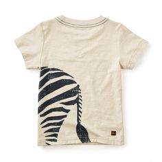 Hoofbeats Graphic Tee | Stripes are always in style, so zebras are naturally some of the most fashionable creatures around.