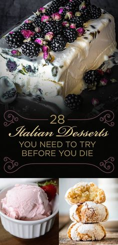 28 Italian Desserts You Need To Try Before You Die desserts 28 Italian . , 28 Italian Desserts You Need To Try Before You Die desserts 28 Italian Desserts You Need To Try Before You Die. Italian Cookie Recipes, Italian Cookies, Italian Biscuits, Köstliche Desserts, Dessert Recipes, Plated Desserts, Dishes Recipes, Pie Recipes, Italian Cake