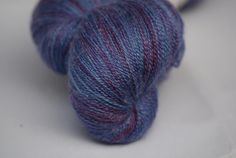 L. BluefacedLeicester/Zijde 80/20 BFL.Z 7, Wol-Uniek, 1-5mm, lace garen, €23, 75