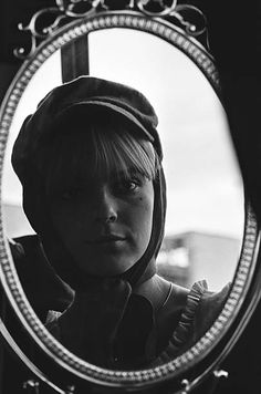 Closeup French singer France Gall on July 06 1966