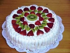 Tarta casera de cumpleaños