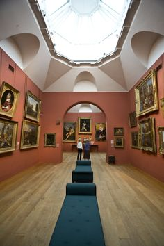 Interior of Dulwich Picture Gallery. Dulwich Picture Gallery, Public Art, Art Gallery, Old Things, Sculpture, Architecture, Regency, Building, Galleries