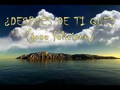 Jose Feliciano - Por que te tengo que olvidar (oficial) - YouTube