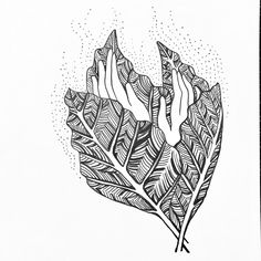 Graphic art - pen and ink.