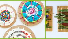 6 Matariki Star Crafts - diy Thought Diy Crafts For Kids, Fun Crafts, Paper Crafts, Weaving For Kids, Stars Craft, Recycled Crafts, Crafty Projects, Business For Kids, Quality Time