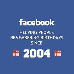 Thank goodness for Facebook!  #iBoomMedia #socialmedia #socialmediamarketing #social #socialplatforms #facebook #instagood #funny #birthdays