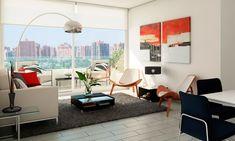 Sala de Estar Moderna Living - Para Más Información Ingresa en: http://decoracionsalas.com/sala-de-estar-moderna-living/