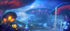 Warcraft Zangarmarsh Karazhan by Peter Lee Peter Lee, Alternate Worlds, World Of Warcraft, Fantasy Art, Arts And Crafts, Concept, Fish, Illustration, Artwork