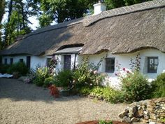 Our next door neighbour's beautiful cottage in Ireland-Bessie's Cottage, Gorey, Wexford, Ireland
