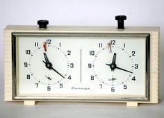 Soviet Chess Clock Working Russian Yantar Chess by cherryshop
