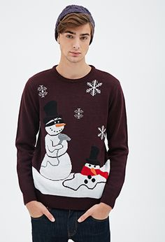Light-Up Reindeer Sweater | 21 MEN | #f21men | forever 21 | men ...