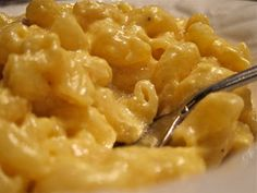 """Oven Baked Macaroni and Cheese - the boys both """"licked the platter clean"""" and husband had 3 helpings!  Definitely a keeper."""