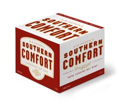 Design Today: Southern Comfort Branding & Packaging Redesigned by Helms Workshop