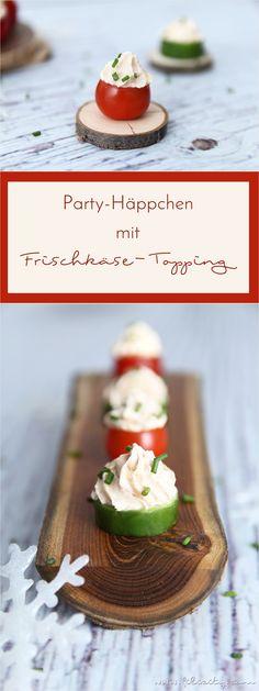Egal, ob süß oder herzhaft, Fingerfood ist auf jeder Party ein Muss. Nach diesen schnellen und gesunden Häppchen lecken sich deine Gäste die Finger! Garantiert! #rezept #silvester #party #buffet #fingerfood