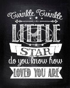 8X10 Art Print Twinkle twinkle little star do by ThePrintAnnex