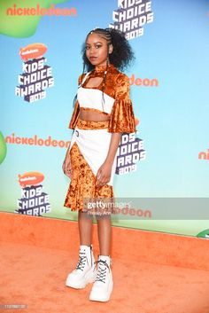 Riele Downs attends Nickelodeon's 2019 Kids' Choice Awards at Galen Center on March 2019 in Los Angeles, California. Get premium, high resolution news photos at Getty Images Nickelodeon Girls, Nickelodeon Shows, Jace Norman Snapchat, Henry Danger, Ella Anderson, Jason Norman, Grunge, Indie, Becoming An Actress