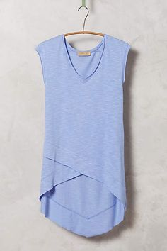 Crossover Tunic Tee - anthropologie.com #anthrofave