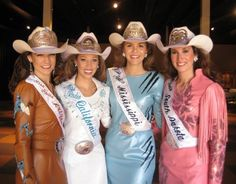 2009 State Queens Cowgirl Fashion, Cowgirl Style, Southern Girls, Country Girls, Cowgirl Photography, Rodeo Queen, Western Girl, Fashion Belts, Western Outfits