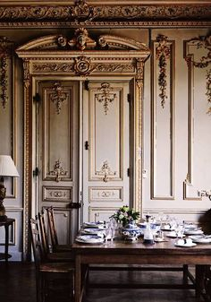 French decor - Jane Webster Normandy chateau - Copyright Sharyn Cairns