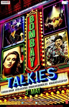 Bombay Talkies - 4 short films celebrating 100 years of films in India. One with the item number to end all item numbers, as it has about 40 cameo appearances in it.
