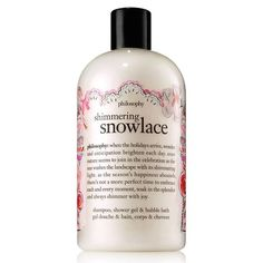 Philosophy - Shimmering Snowlace Shampoo, Shower Gel and Bubble Bath