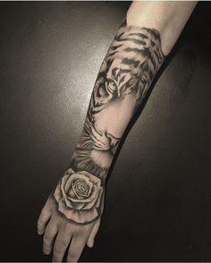 Attractive arm tattoos