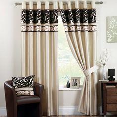 "Dreams 'N' Drapes Coniston 90"" x 72""  Eyelet Curtains, Black by Jrosenthal & Son Limited, http://www.amazon.co.uk/dp/B00AZIDMWA/ref=cm_sw_r_pi_dp_5mBtrb150EPGP"