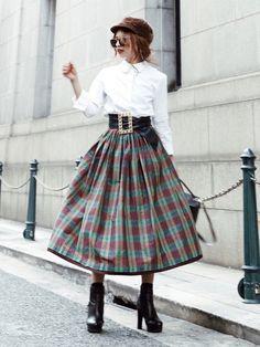 Akane|スカートを使ったコーディネート - WEAR