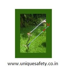 Snake Catching Stick is a modern device to catch snake safely Soft catch-grips do not hurt the snake The long pole keeps person at a safe distance It is light weight and easy to use Make: U-Safe