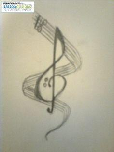 music tattoo designs - Google Search