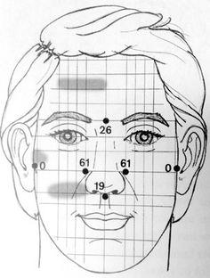 facial reflexology to treat a hangover (for liver gallbladder health)