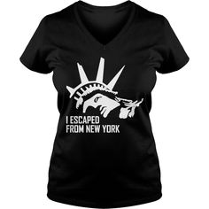I Escaped From New York T-Shirt #gift #ideas #Popular #Everything #Videos #Shop #Animals #pets #Architecture #Art #Cars #motorcycles #Celebrities #DIY #crafts #Design #Education #Entertainment #Food #drink #Gardening #Geek #Hair #beauty #Health #fitness #History #Holidays #events #Home decor #Humor #Illustrations #posters #Kids #parenting #Men #Outdoors #Photography #Products #Quotes #Science #nature #Sports #Tattoos #Technology #Travel #Weddings #Women
