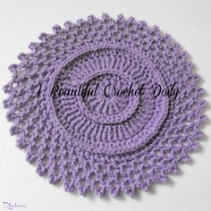 A Beautiful Crochet Doily ~ FREE Crochet Pattern
