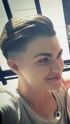 Ruby Rose new haircut